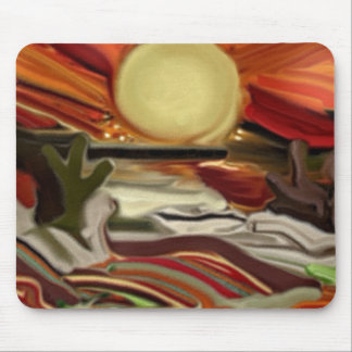 Southwestern Skies Abstract Art Mouse Pad