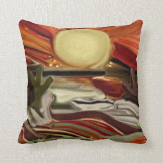 Southwestern Skies Abstract Art Pillows