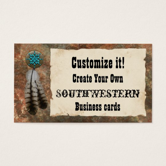 Southwestern Style Business Card