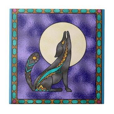 doodlesgifts Southwestern Style Ceramic Tile