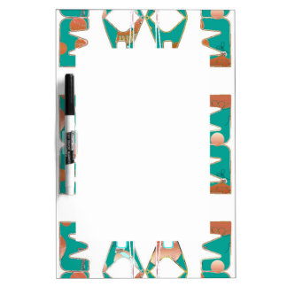 Southwestern Style Dry Erase Board