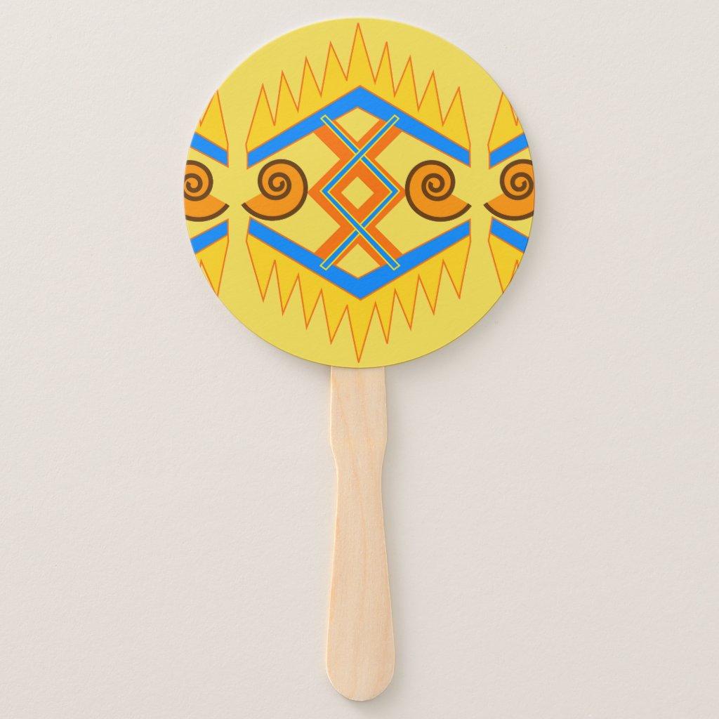 Southwestern Style Hand Fan