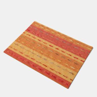 Southwestern style pattern door mat