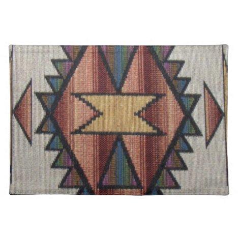 Southwestern Style Pattern place mat