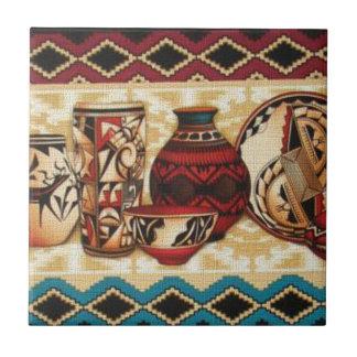 Southwestern Style Pattern Tile