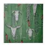 "Southwestern Style Pattern Tile<br><div class=""desc"">design by Darq Illusions</div>"