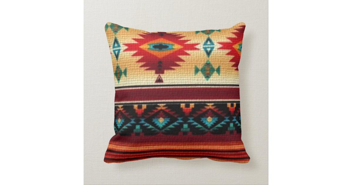 Southwestern Lumbar Pillow : Southwestern Style Pillow Zazzle