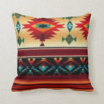 "Southwestern Style Pillow<br><div class=""desc"">design by Darq Illusions</div>"