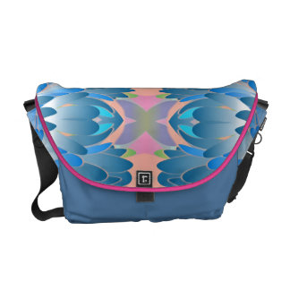 Southwestern Style Vector Abstract Messenger Bags