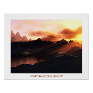 Southwestern Sunset Print
