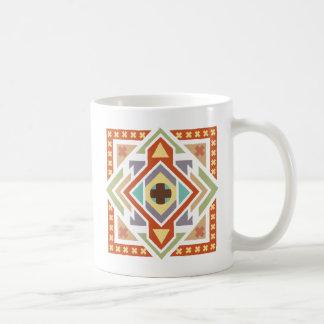 Southwestern Tribal Geometric Pattern Coffee Mug