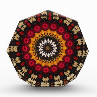 Southwestern Tribal Geometric Western Acrylic Award
