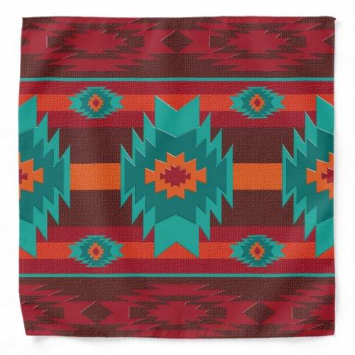 Southwestern tribal pattern bandana