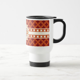 Southwestern Tribal Pattern Travel Mug