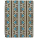 Southwestern Turquoise Pattern iPad Cover