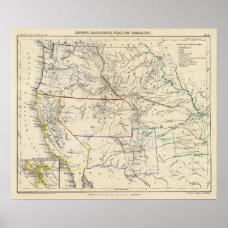 Southwestern United States Poster