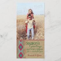 Southwestern Weave Holiday Greeting