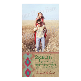 Southwestern Weave Holiday Greeting Card