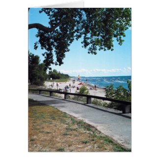 Southwick Beach Greeting Card
