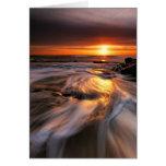 Southwold Beach Sunrise 4. Stationery Note Card