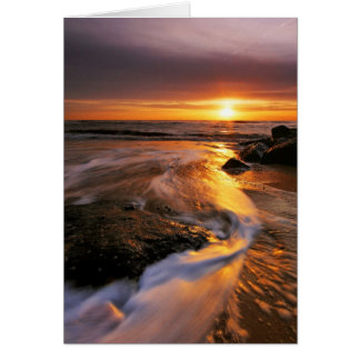 Southwold Beach Sunrise 6. Card