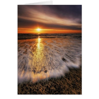 Southwold Beach Sunrise 8. Card