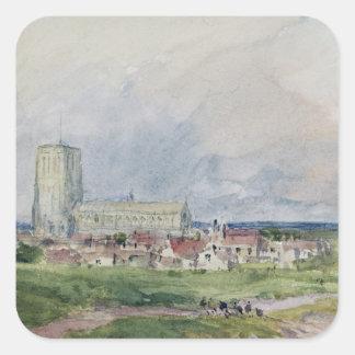 Southwold, Suffolk Square Sticker