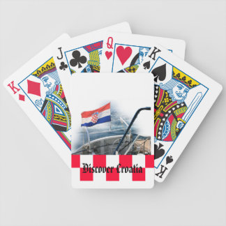 Souvenier for Croatian touristen Bicycle Playing Cards
