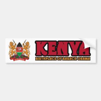 Souvenier of Kenya Bumper Sticker