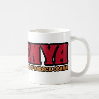 Souvenier of Kenya Classic White Coffee Mug