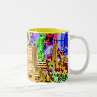 Souveniers Pop Two-Tone Coffee Mug
