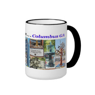 Souvenir Coffee Mug, Columbus GA Ringer Mug