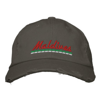 Souvenir for Maldives vacations Embroidered Baseball Cap