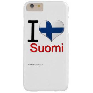 Souvenir from Suomi Barely There iPhone 6 Plus Case