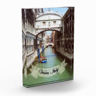 Souvenir from Venice Italy Bridge of Sighs Award