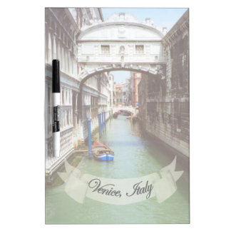 Souvenir from Venice Italy Bridge of Sighs Dry-Erase Board