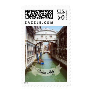 Souvenir from Venice Italy Bridge of Sighs Postage