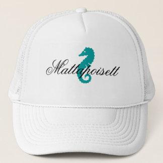 Souvenir Hat Mattapoisett Massachusetts Seahorse