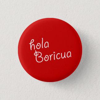 Souvenir: Hola Boricua: Pin