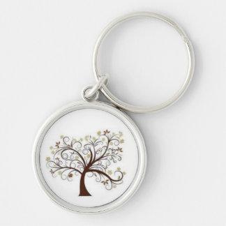 souvenir keychain - fancy tree