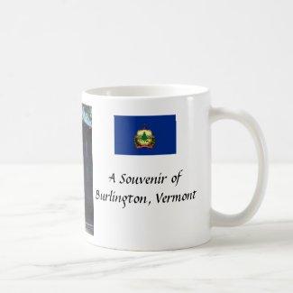 Souvenir Mug, Burlington, Vermont, USA
