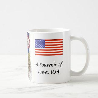Souvenir Mug, Iowa, USA Coffee Mug