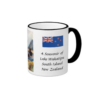 Souvenir Mug - Lake Wakatipu, South Island, New Ze