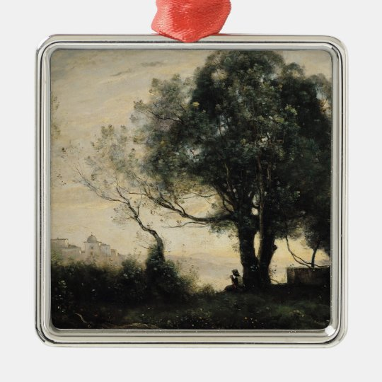 Souvenir of Castel Gandolfo Metal Ornament