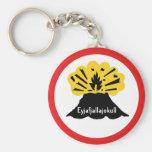 Souvenir of Eyjafjallajokull Your Volcano Keyring Key Chains