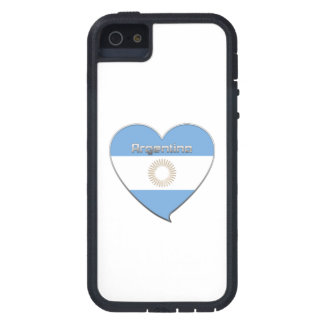 Souvenir of Heart National flag of ARGENTINA iPhone 5 Covers