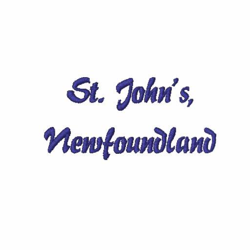 Souvenir of Newfoundland - Customize It Embroidered Shirt