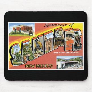 Souvenir of Santa Fe, New Mexico Mousepad