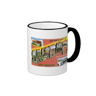 Souvenir of Santa Fe, New Mexico Mugs
