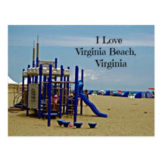 Souvenir of Virginia Beach, Virginia Postcard